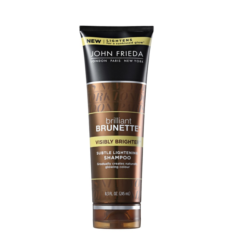 John Frieda Brilliant Brunette Visibly Brighter  - Shampoo 245ml