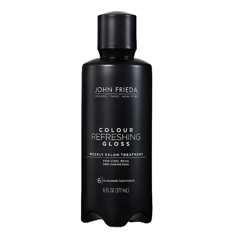 John Frieda Colour Refreshing Gloss For Cool Reds - Realçador da Cor 177ml