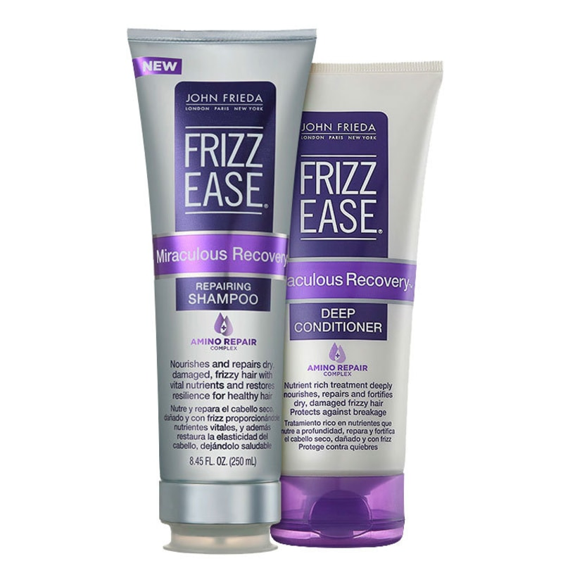 Kit John Frieda Frizz-Ease Miraculous Recovery Deep (2 Produtos)