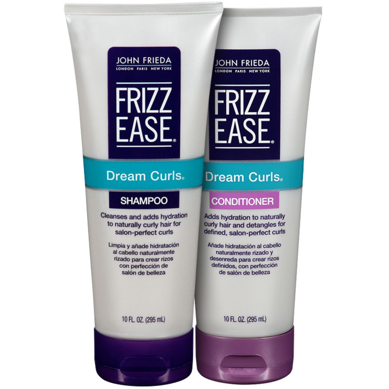 John Frieda Frizz-Ease Dream Curls Duo Kit (2 Produtos)