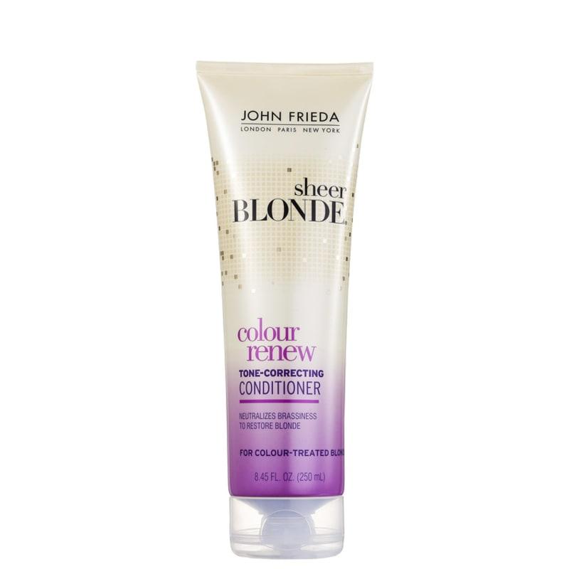 John Frieda Sheer Blonde Color Renew Tone-Correcting Conditioner - Condicionador 250ml