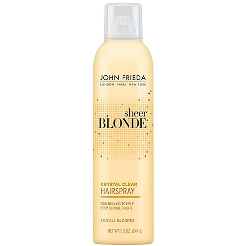 John Frieda Sheer Blonde Crystal Clear Shape & Shimmer Hairspray - Finalizador 240g