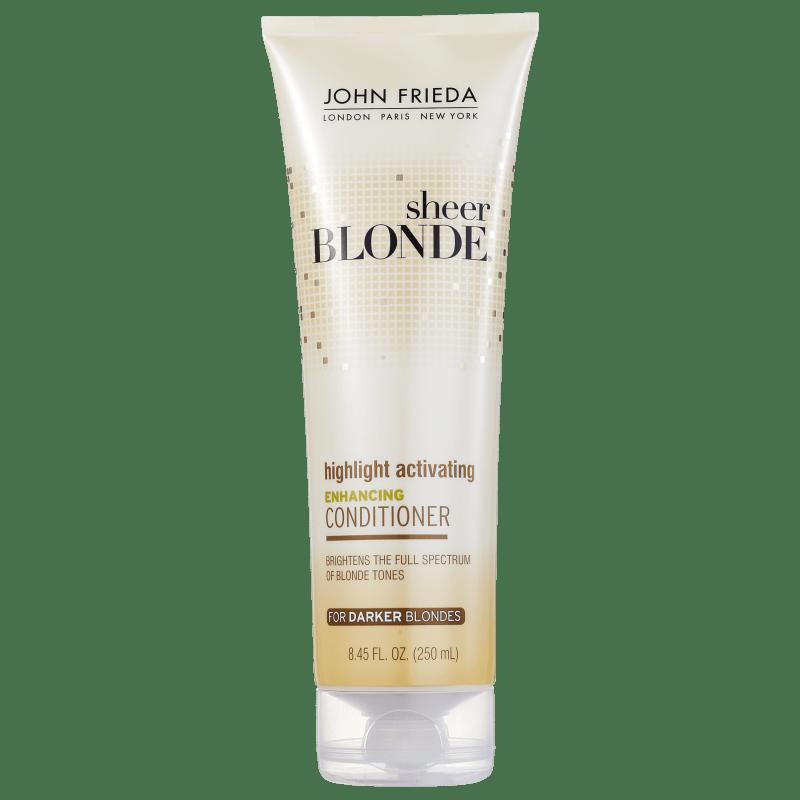 John Frieda Sheer Blonde Enhancing Conditioner Darker Blondes - Condicionador 250ml