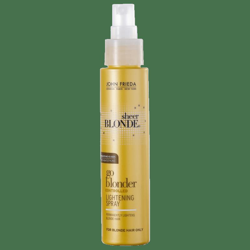 John Frieda Sheer Blonde Go Blonder Controlled Lightening Spray - Clareador Termoativado 103ml