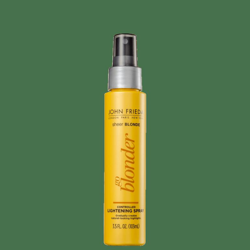 John Frieda Sheer Blonde Go Blonder Controlled - Spray Clareador Termoativo 103ml