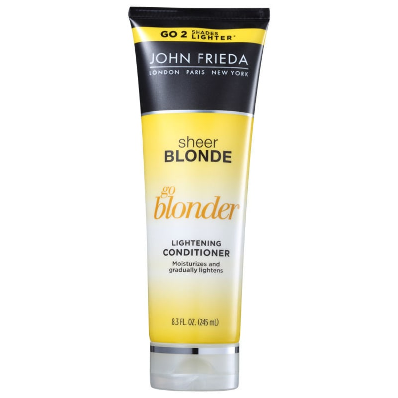 John Frieda Sheer Blonde Go Blonder Lightening Conditioner All Blondes - Condicionador 245ml