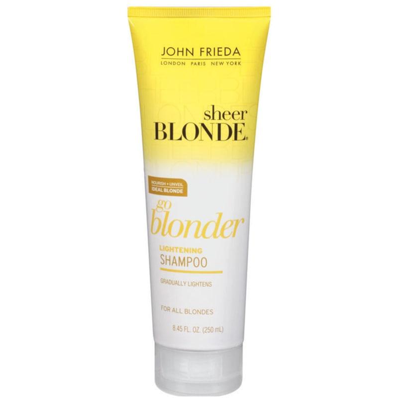John Frieda Sheer Blonde Go Blonder Lightening Shampoo All Blondes - Shampoo 250ml