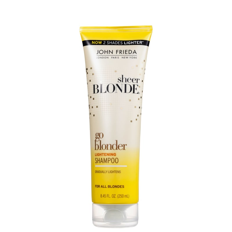 John Frieda Sheer Blonde Go Blonder Lightening Shampoo All Blondes - Shampoo 250ml