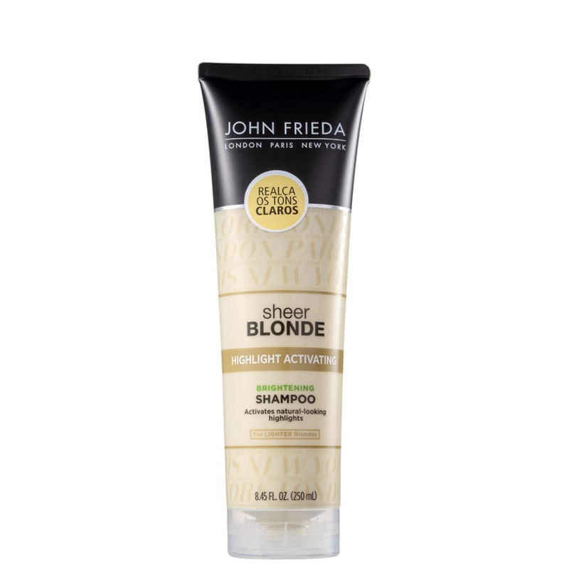 John Frieda Sheer Blonde Highlight Activating for Lighter Blondes - Shampoo 250ml