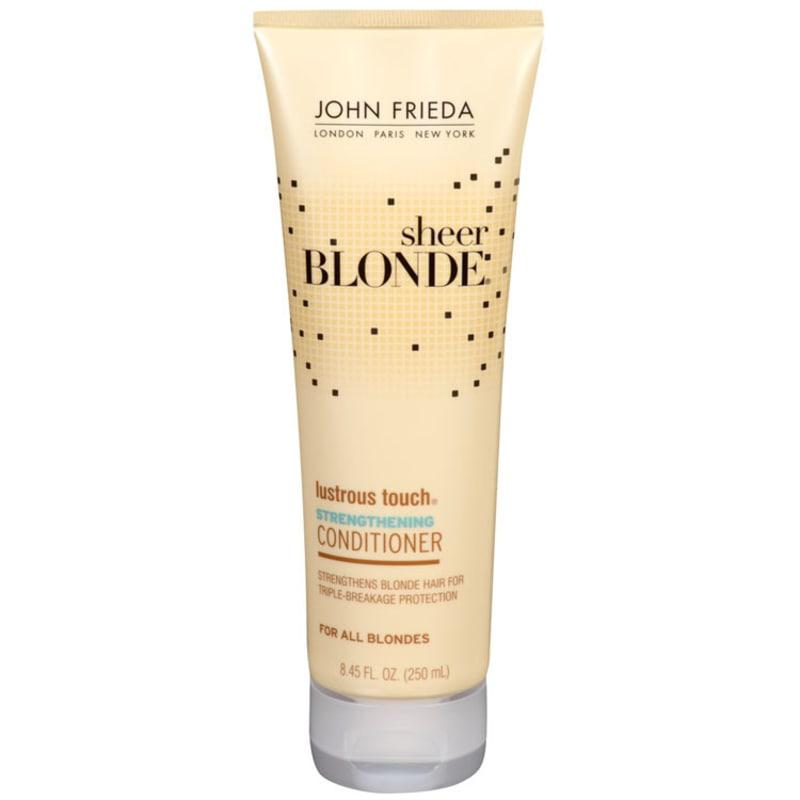 John Frieda Sheer Blonde Lustrous Touch Strengthening Conditioner - Condicionador 250ml