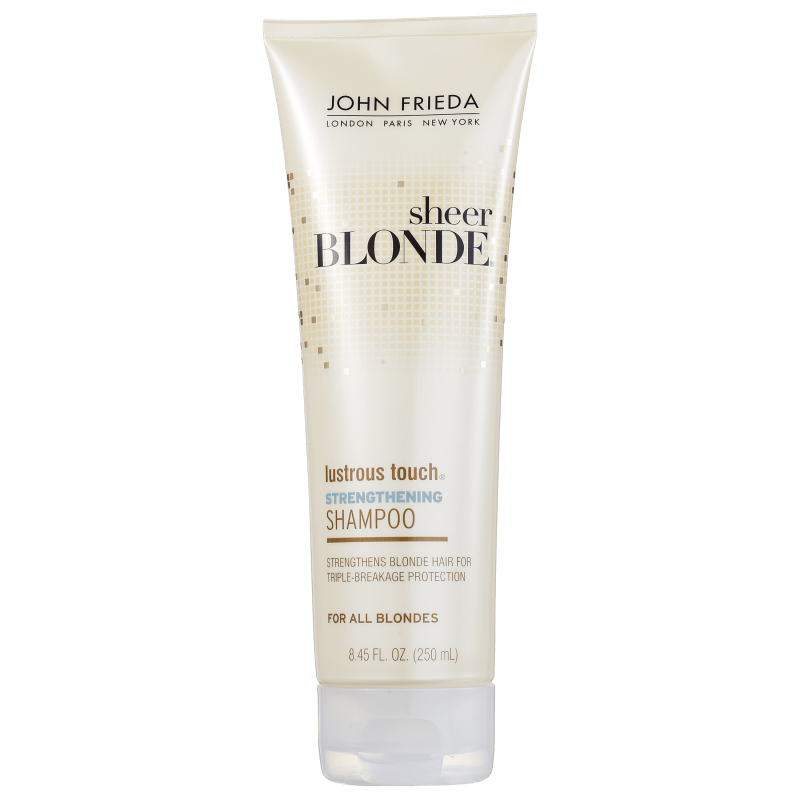 John Frieda Sheer Blonde Lustrous Touch Strengthening - Shampoo 250ml
