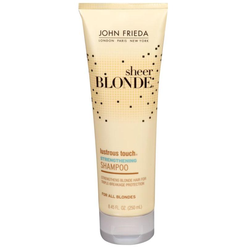 John Frieda Sheer Blonde Lustrous Touch Strengthening - Shampoo 250ml