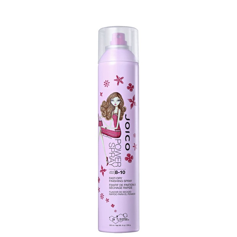 Joico Power Spray Fast Dry Finishing Spray Pink – Spray Fixador 300ml