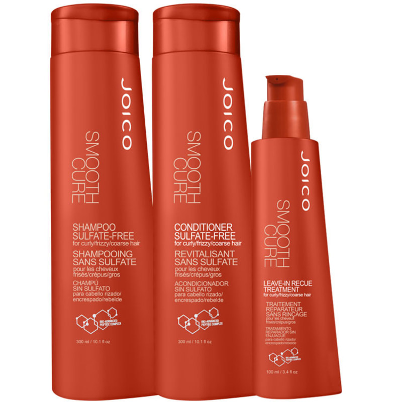 Joico Smooth Cure Rescue Kit (3 Produtos)