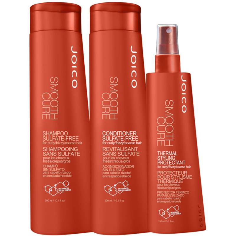Joico Smooth Cure Styling Kit (3 Produtos)
