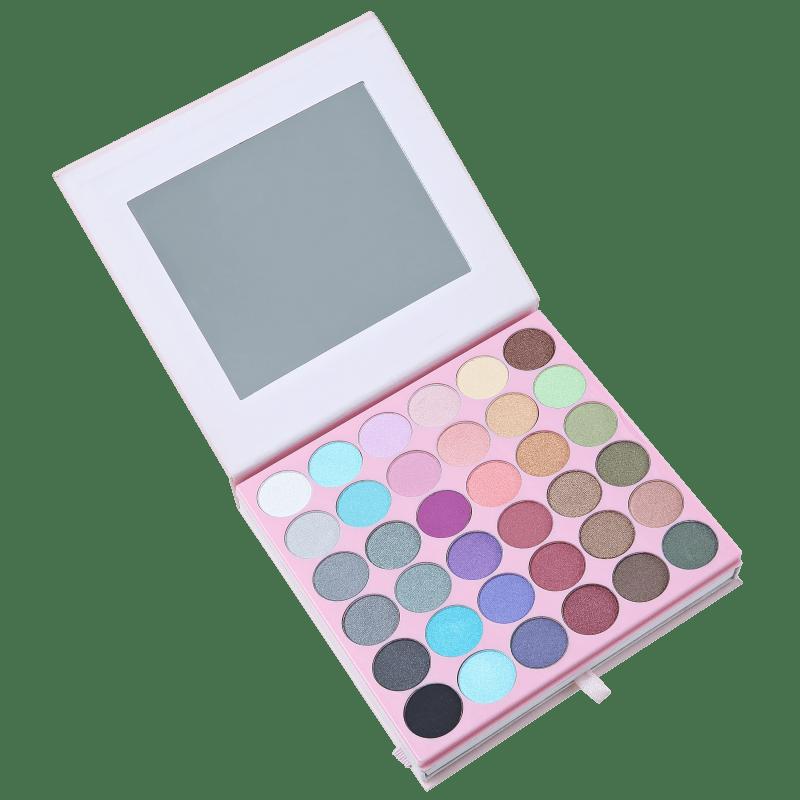 Joli Joli Liberty Pink Flowers - Estojo de Maquiagem
