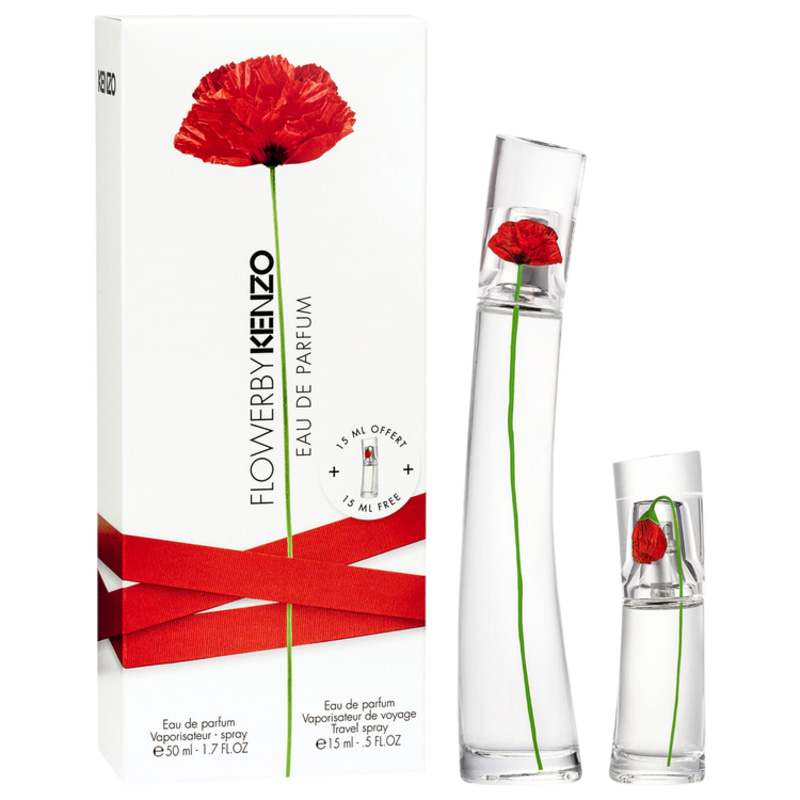 Conjunto Flower by Kenzo Feminino - Eau de Parfum 50ml + Travel Spray 15ml