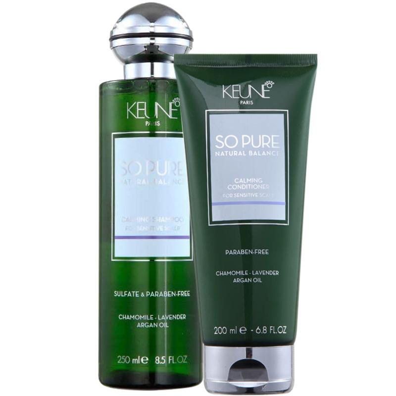 Keune So Pure Calming Duo Kit (2 Produtos)