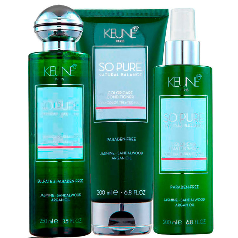 Keune So Pure Color Care Kit (3 Produtos)