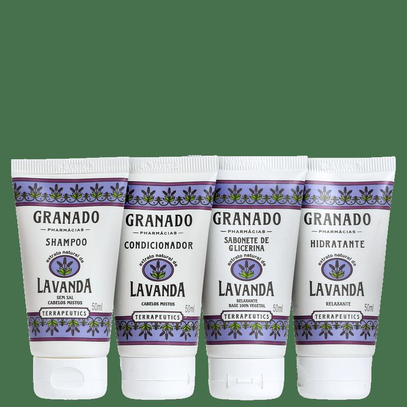 Kit Banho Granado Terrapeutics Lavanda (4 produtos)
