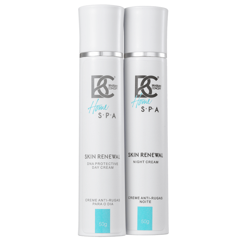 Kit Brazilian Concept Skin Renewal DNA Protective Day and Night (2 produtos)