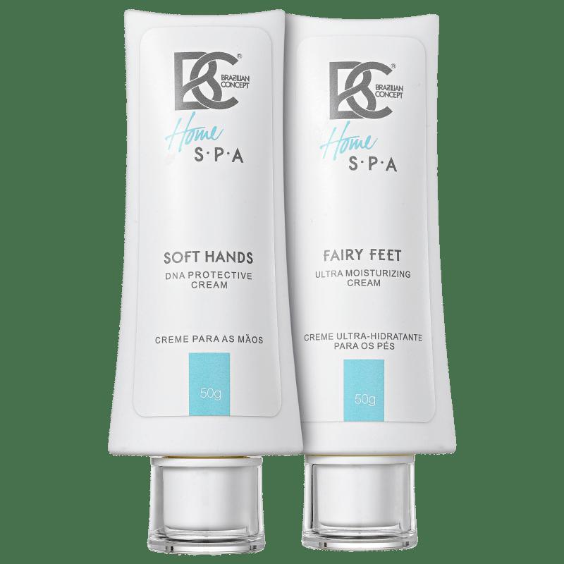 Kit Brazilian Concept Soft Hands Fairy Feet Cream (2 produtos)
