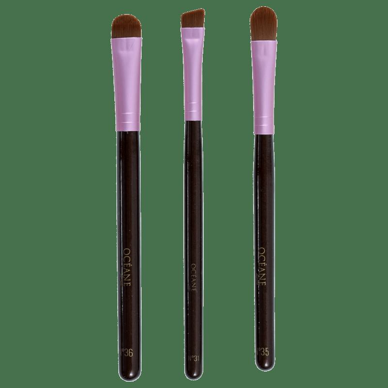 Kit de Pincéis Océane Femme Eye Brushes (3 produtos)