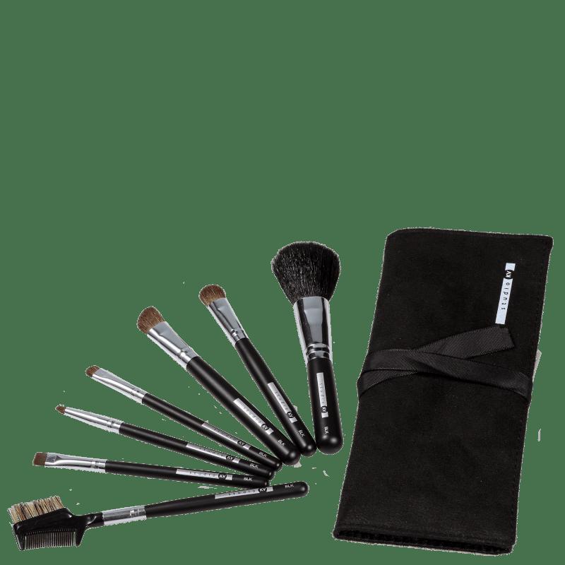 Kit de Pincéis Studio KV BLK-01 (7 Produtos)