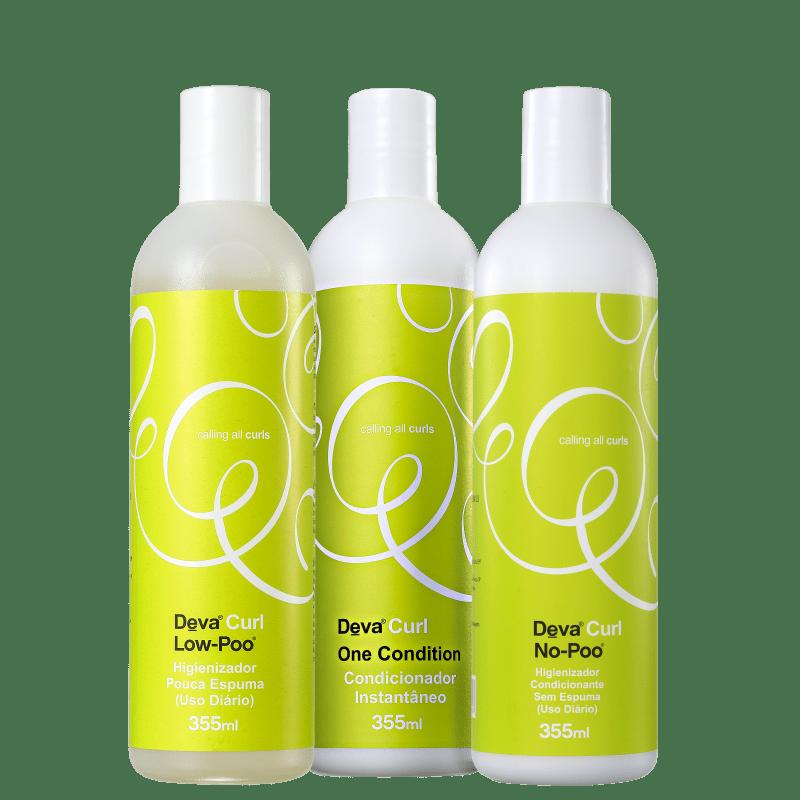 Kit Deva Curl Curl (3 Produtos)