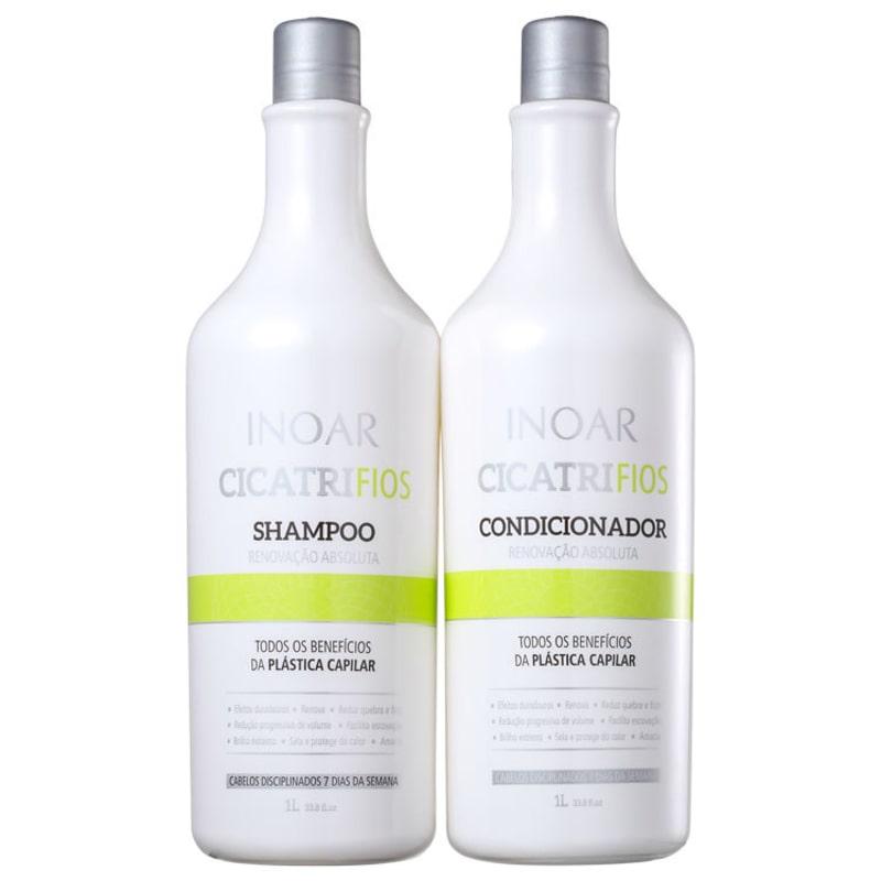 Kit Cicatrifios (shampoo e condicionador)