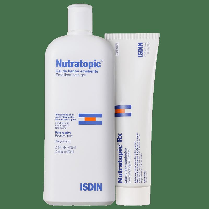 Kit ISDIN Nutratopic Hidratação Intensa (2 produtos)