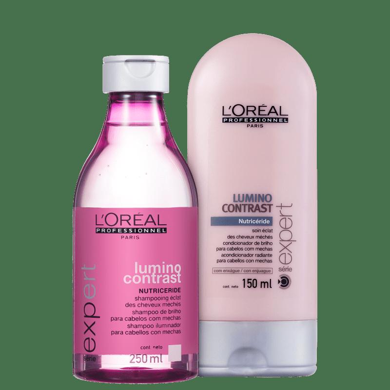 Kit L'Oréal Professionnel Expert Lumino Contrast Duo (2 Produtos)