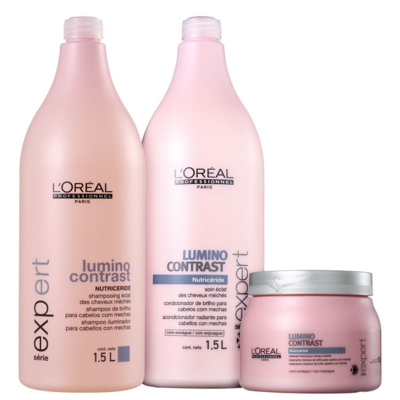 Kit L'Oréal Professionnel Expert Lumino Contrast Pro Trio (3 Produtos)