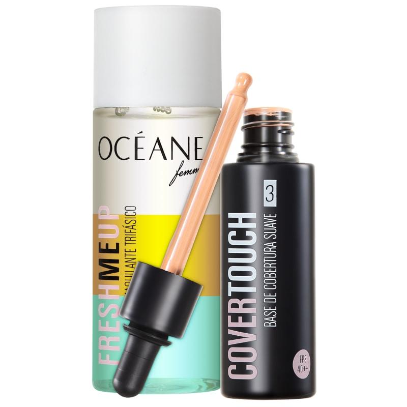 Kit Océane Femme Cover Touch 3 Fresh Me Up (2 produtos)