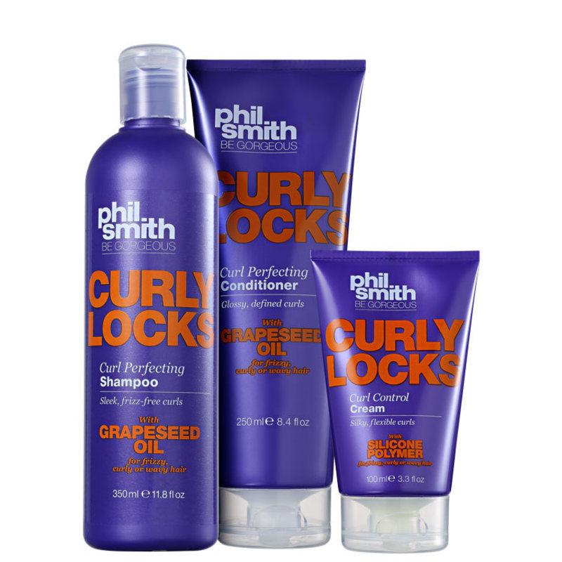 Kit Phil Smith Curly Locks Curl Perfecting (3 Produtos)