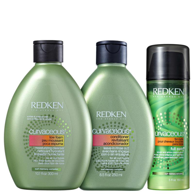 Kit Redken Curvaceous Full Swirl (3 Produtos)