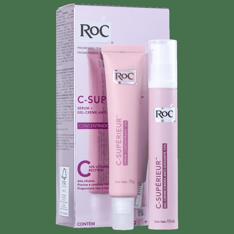 Kit RoC CSupérieur Concentrado 16% Duo (2 produtos)