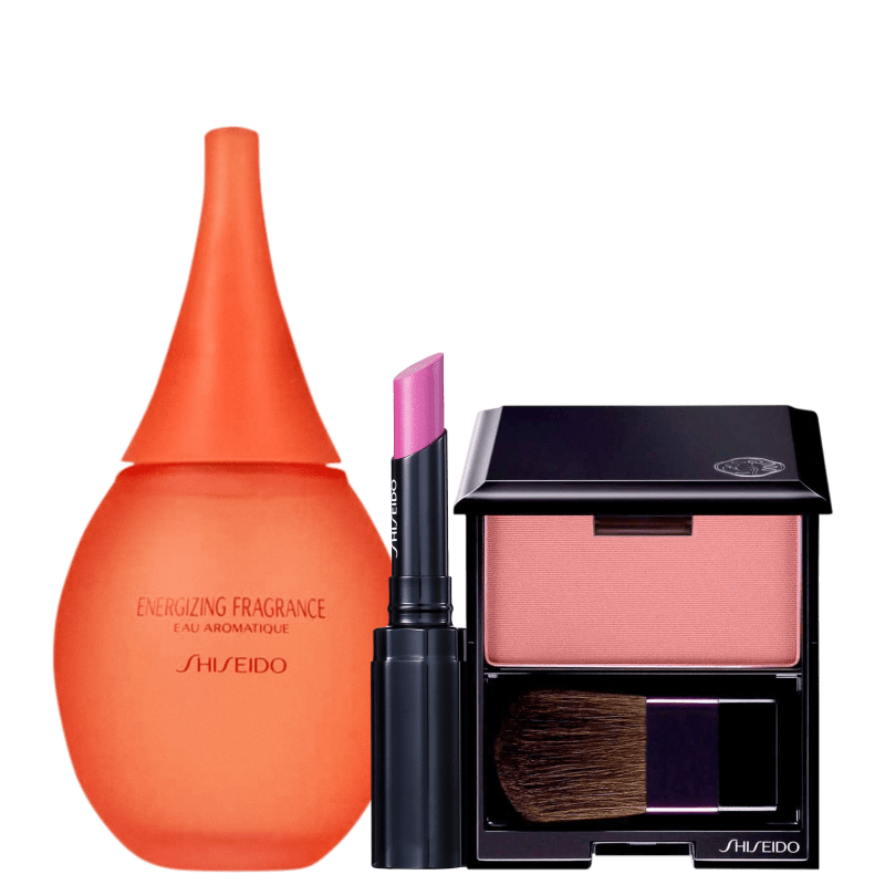 Kit Shiseido Make & Aromatique (3 Produtos)