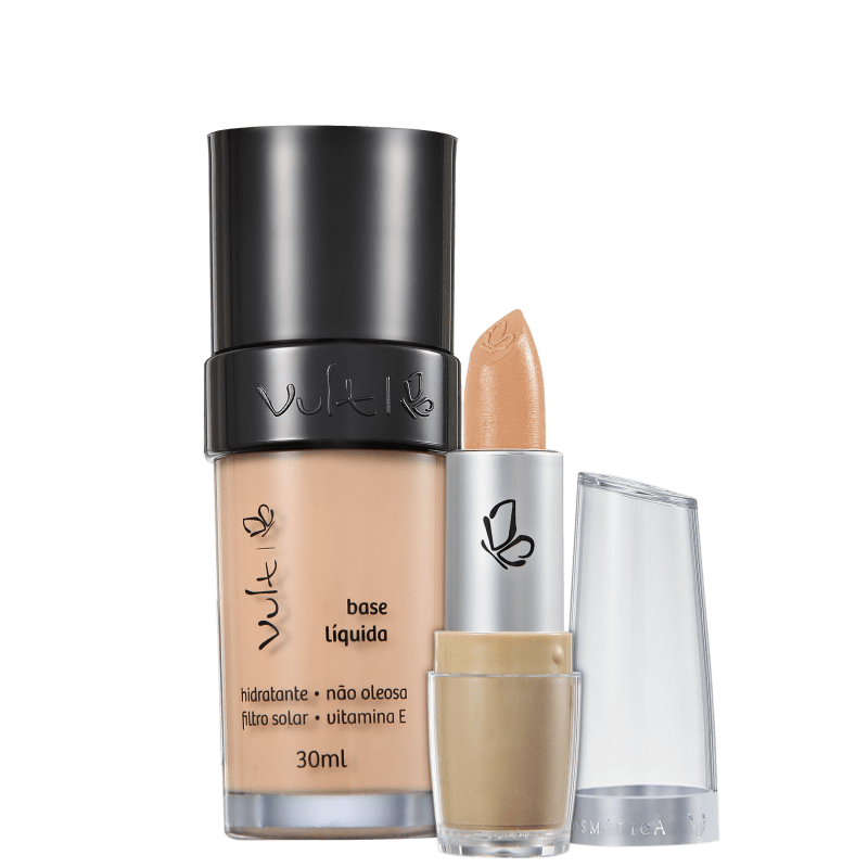 Kit Vult Make Up 01 Bege Duo (2 produtos)
