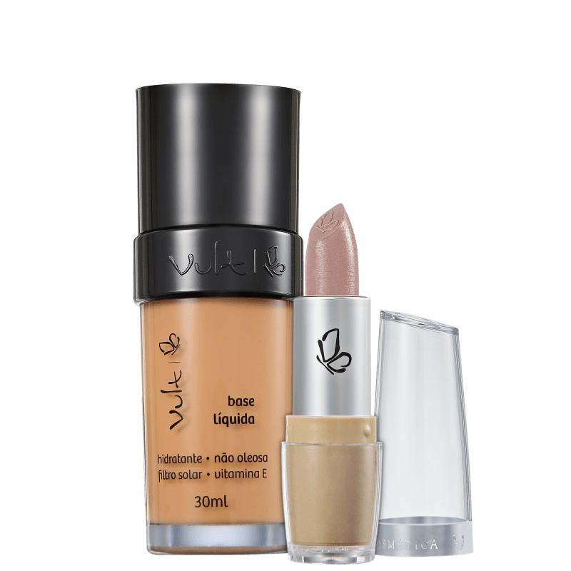 Kit Vult Make Up 04 Marrom Rosa Duo (2 produtos)