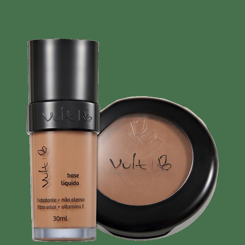 Kit Vult Make Up 06 Marrom Duo (2 produtos)