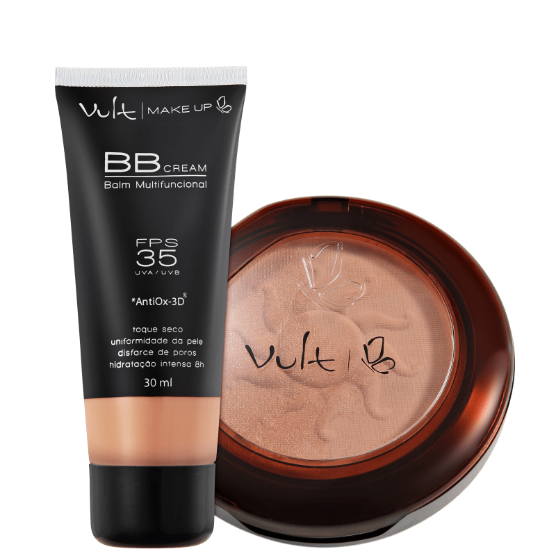 Kit Vult Make Up Balm Duo 03 (2 produtos)