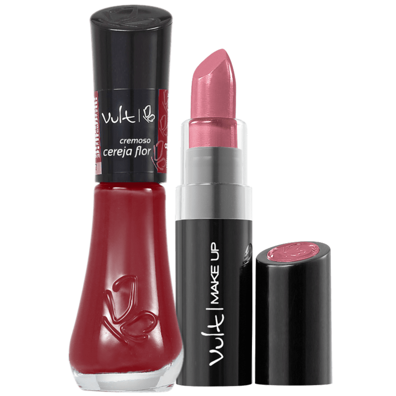 Kit Vult Make Up Cereja Flor Duo (2 produtos)