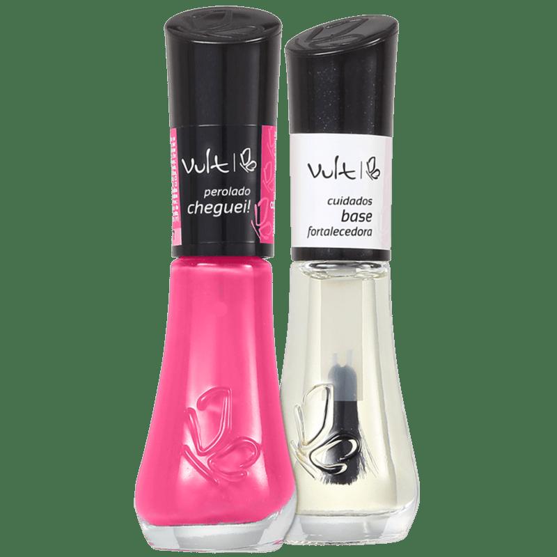 Kit Vult Unhas Cheguei! Fortalecedora (2 produtos)