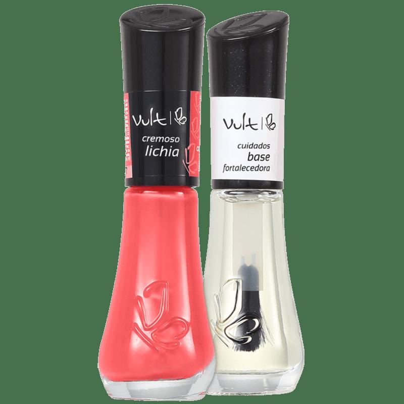 Kit Vult Unhas Lichia Fortalecedora Duo (2 produtos)