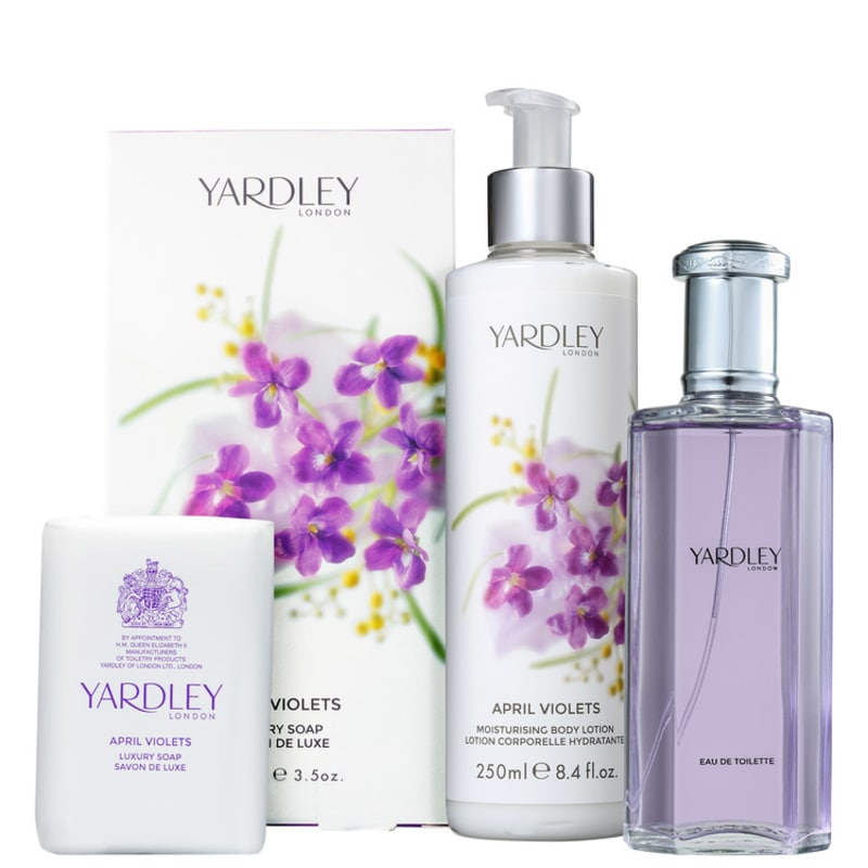 Kit Yardley April Violets (3 Produtos)