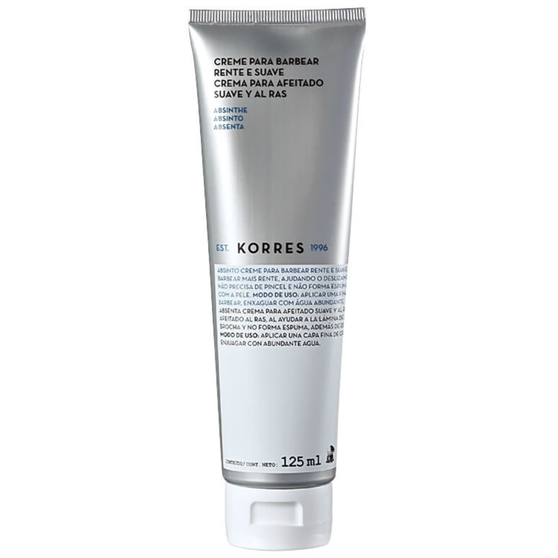 Korres Absinthe - Creme de Barbear 125ml
