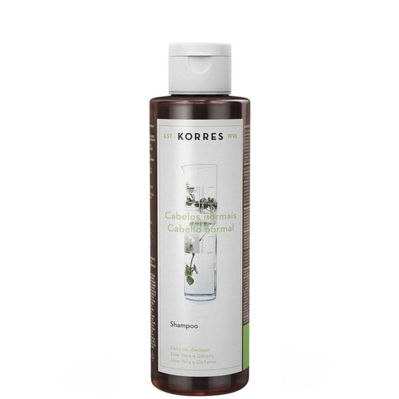 Korres Aloe Vera e Dittany - Shampoo 250ml