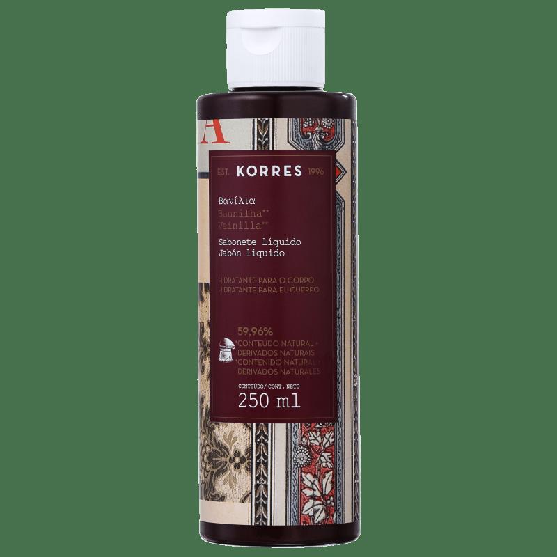 Korres Baunilha - Sabonete Líquido 250ml
