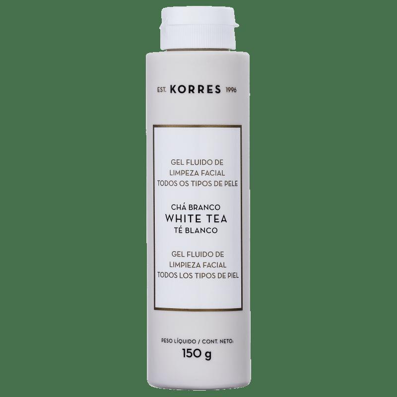 Korres Chá Branco - Gel de Limpeza Facial 150g